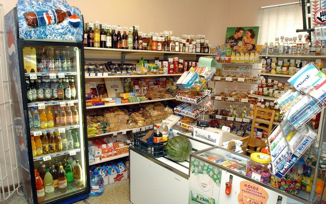 Сельский магазин. Иллюстративная фотография.