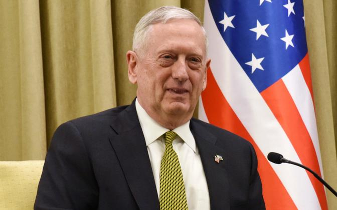 USA kaitseminister James Mattis.