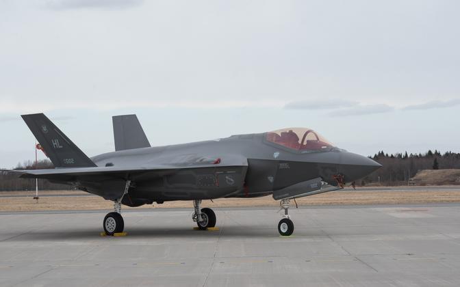 USA F-35 hävitaja Ämaris.