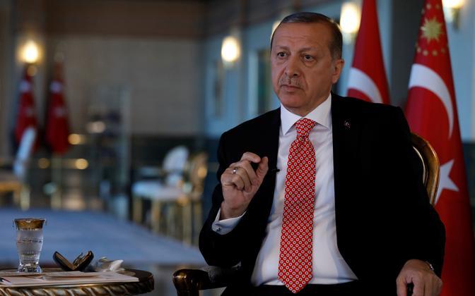 Türgi president Recep Tayyip Erdoğan andis intervjuu Reutersile.