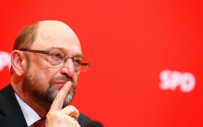 Saksamaa liidukantsler Martin Schulz.