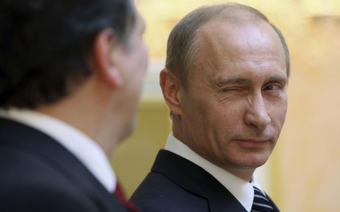 President Putin 2009. aastal.