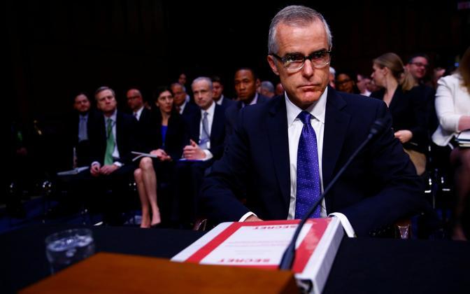FBI direktori kohusetäitja Andrew McCabe.