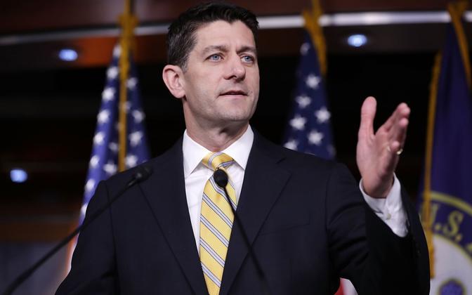 USA esindajatekoja spiiker, vabariiklane Paul Ryan.