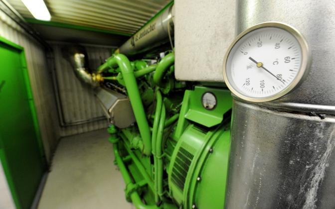 Biogas will be used at the plant to produce biomethane. Photo is illustrative.