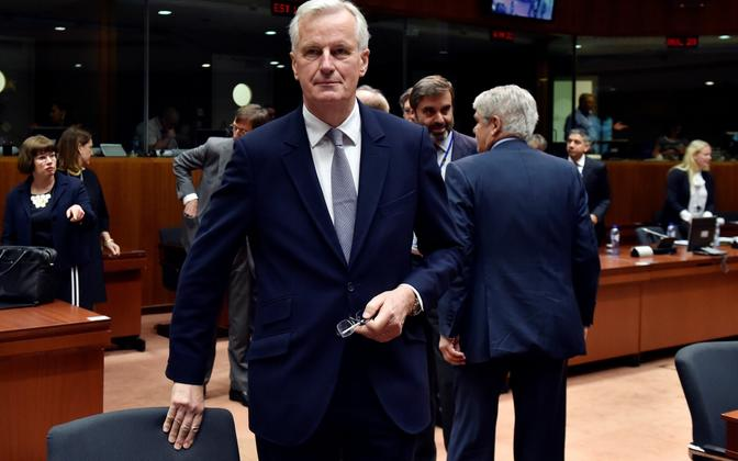 Michel Barnier 22. mail Brüsselis.