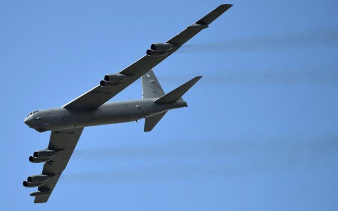 A B-52 of the U.S. Air Force.