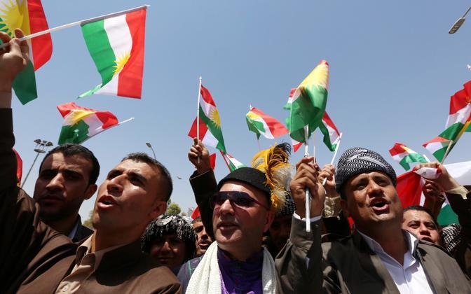 Iraagi kurdid.