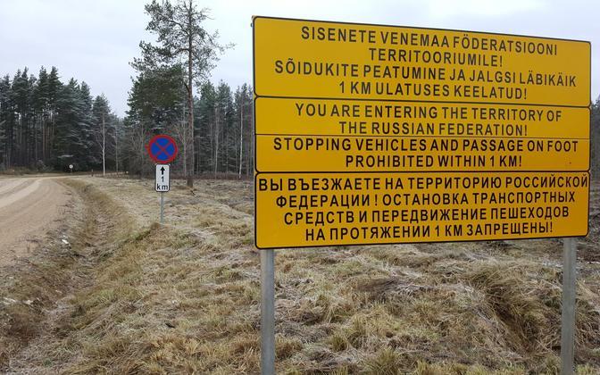 Venemaa piirivalve pidas kinni Saatse saapas peatumisnõuet eiranud mehed.