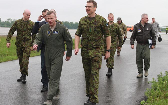 NATO õhuväejuhatuse ülem kindral Tod D. Wolters külastas Ämari lennubaasi tänavu juunis.