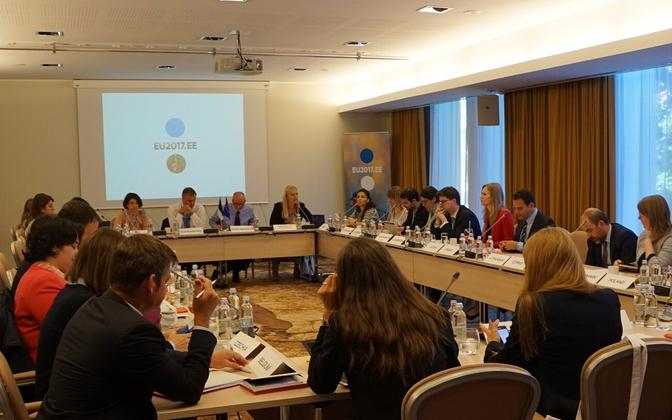 At the meeting, Maasikas reaffirmed Estonia's support of the countries in the Western Balkans.