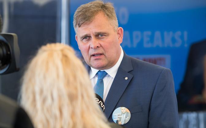 MP Raivo Aeg, IRL's candidate for mayor of Tallinn.