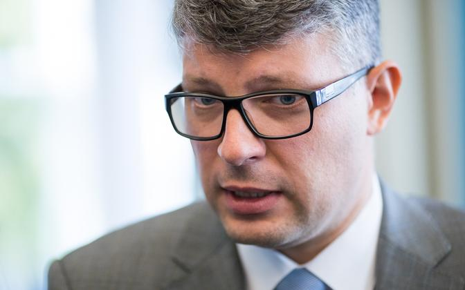 Center Party Secretary General Mihhail Korb.