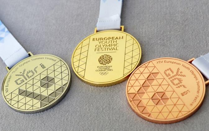 Noorte olümpiafestivali medalid
