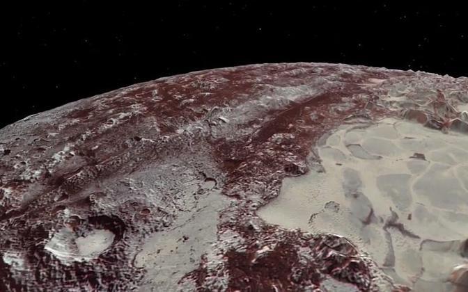 NASA video Pluutost.