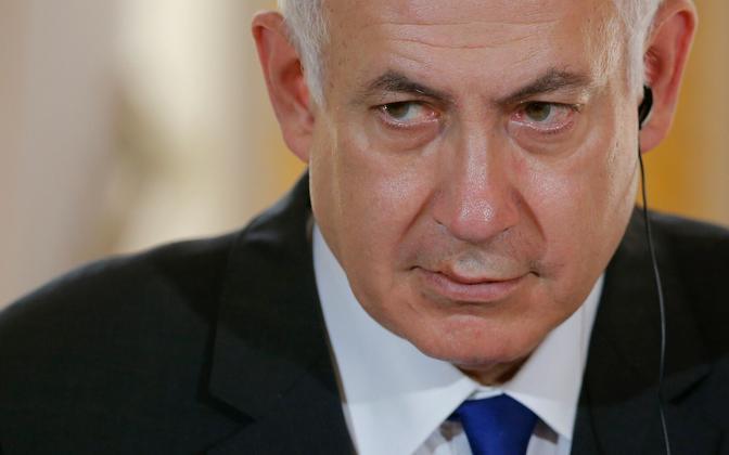 Iisraeli peaminister Benjamin Netanyahu 16. juulil Pariisis.