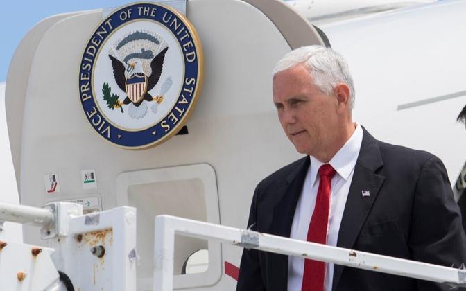 U.S: Vice President Mike Pence.