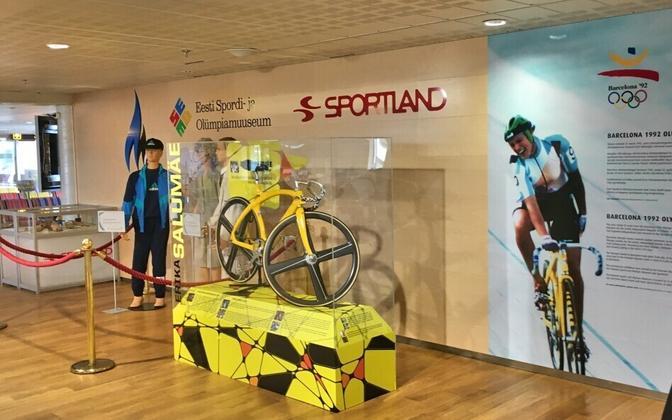 Barcelona olümpia väljapanek lennujaamas