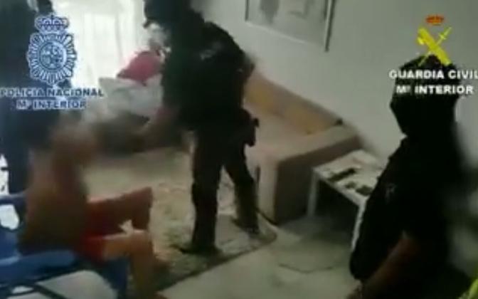 The arrest of Vyacheslav Gulevich.