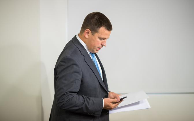 Prime Minister Jüri Ratas.