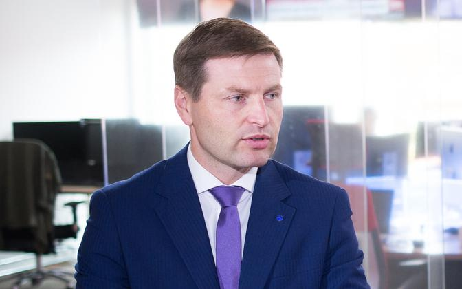 Reform Party chairman Hanno Pevkur.