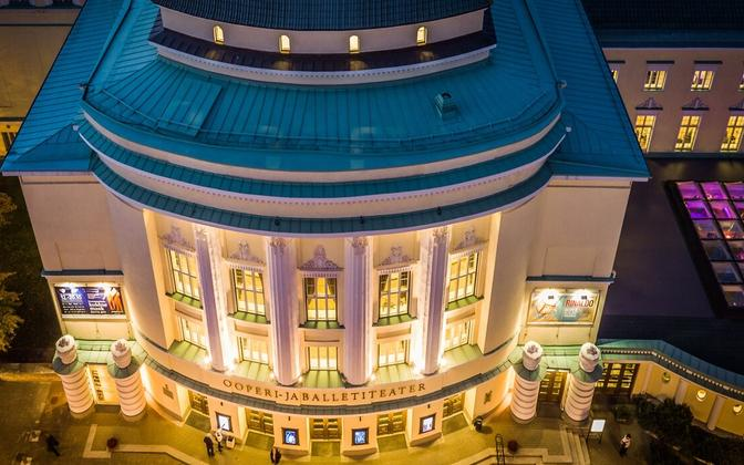 Estonian National Opera in Tallinn.
