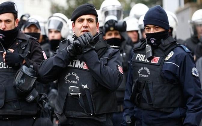 Türgi politsei