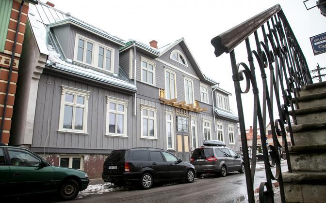 A house under renovation in Pärnu. Photo is illustrative.