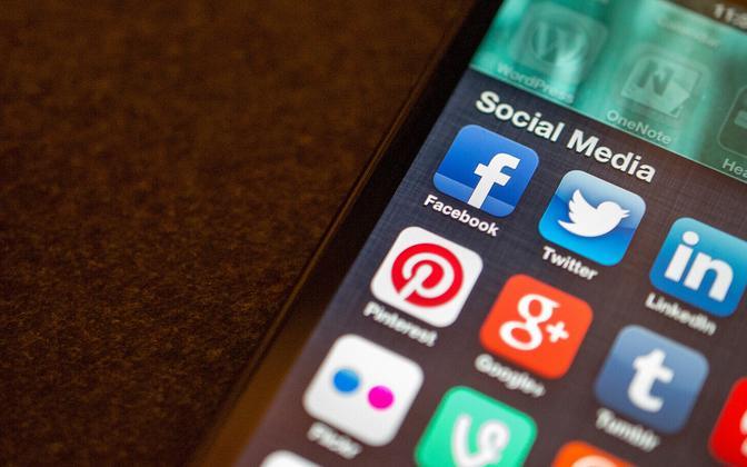 Sotsiaalmeedia rakendused.