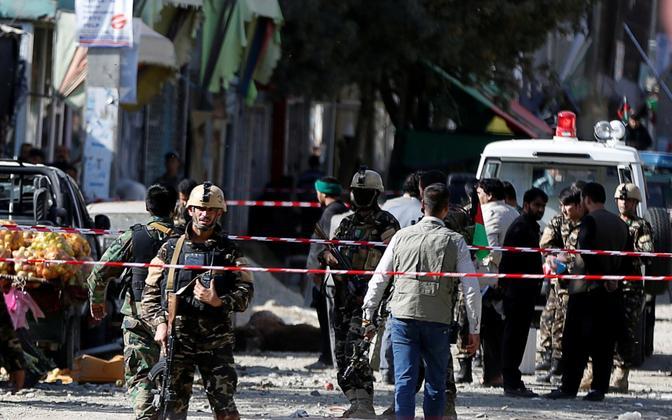 Terrorirünnak Kabulis mullu septembris.