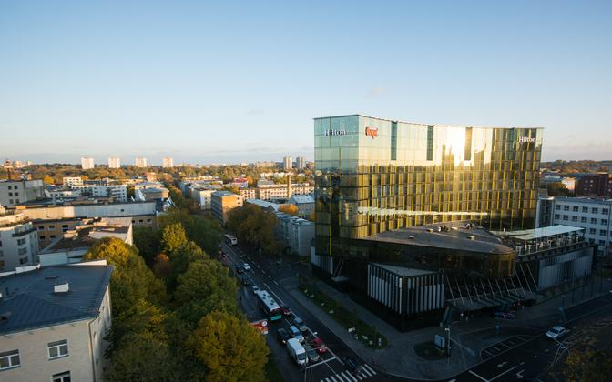 The growing number of four or five-star hotels has supported the increase in business visitors, Enterprise Estonia said.