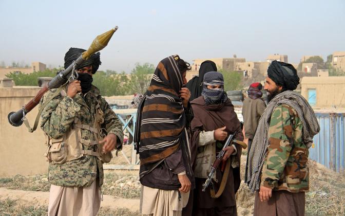 Talibani võitlejad, arhiivifoto.