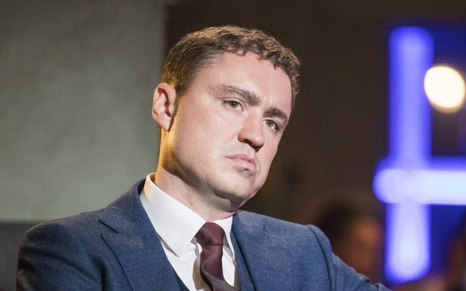 Taavi Rõivas on TV chat show