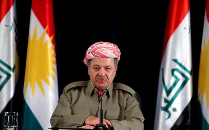 Iraagi Kurdistani president Massoud Barzani.