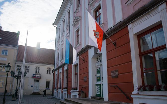 Tartu city government building.