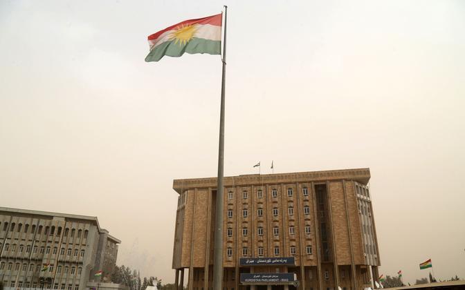 Kurdistani parlament Erbili linnas.
