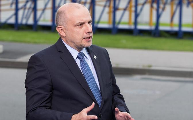 Eesti kaitseminister Jüri Luik.