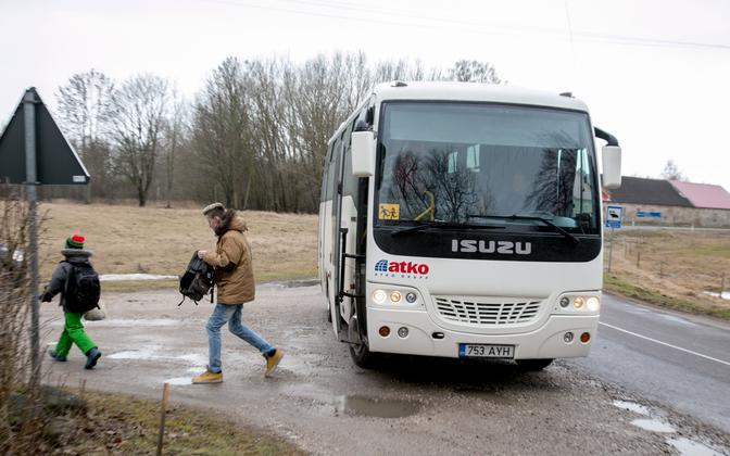 A school bus in Estonia (picture is illustrative).