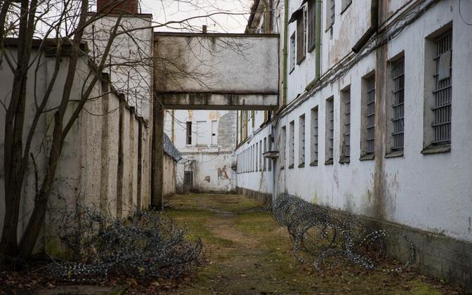 At Tallinn's Patarei prison.