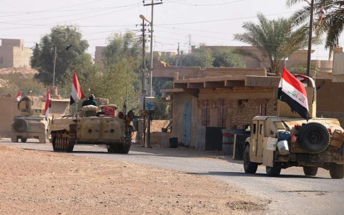 Iraagi armee Rawa lähistel 11. novembril.