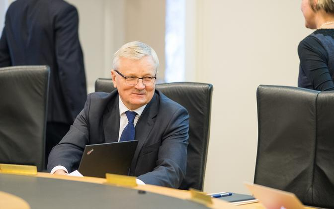 Tarmo Tamm (Centre) is chair of the Riigikogu rural affairs committee.