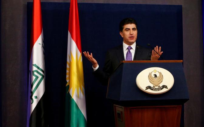 Kurdistani peaminister Nechirvan Barzani.