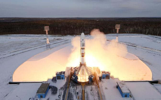 Raketistart Vostotšnõi kosmodroomilt 28. novembril.