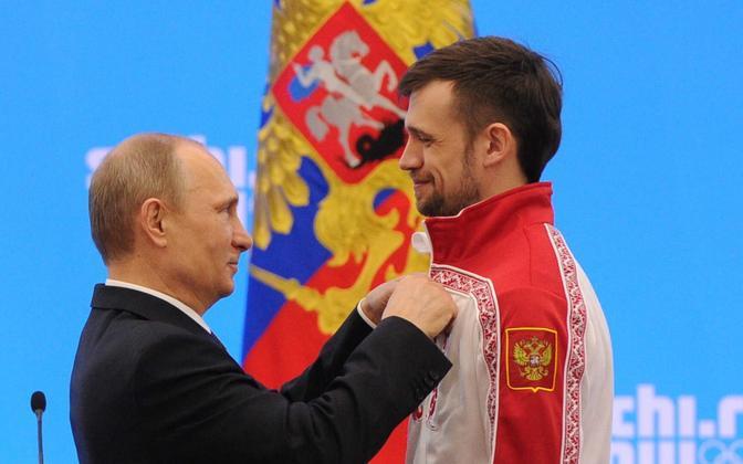 Vladimir Putin ja Aleksandr Tretjakov