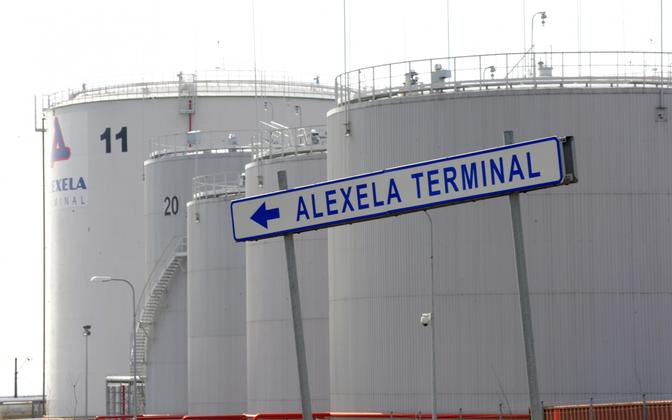 Терминал Alexela в Палдиски.