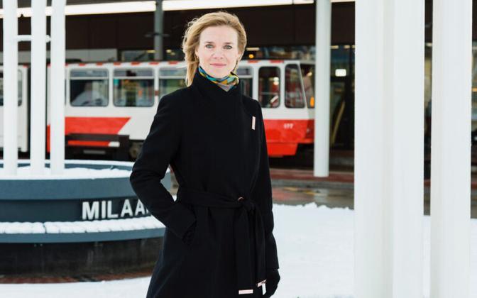 Riia Sillave, Rail Baltic Estonia's new chief.