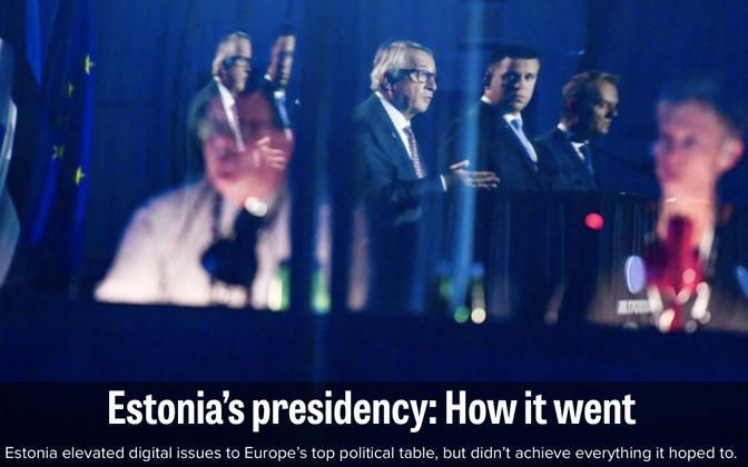 Politico hinnang Eesti eesistumisele.