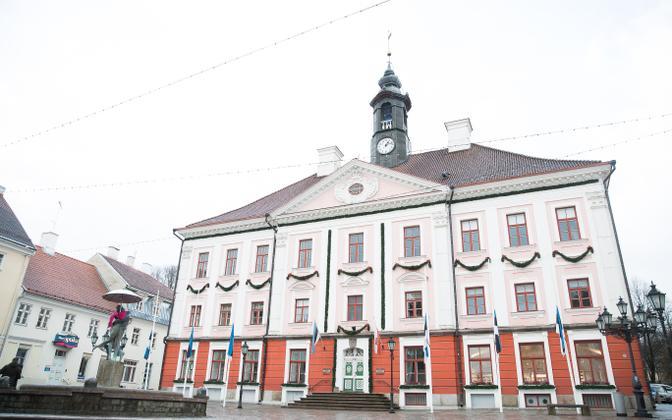 Tartu Town Hall.