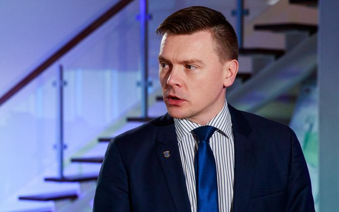 Ministry of Finance Deputy Secretary General for Tax and Customs Policy Dmitri Jegorov.