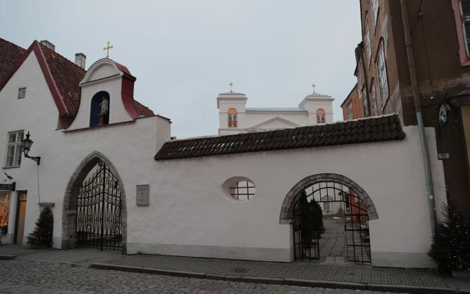 Sts. Peter and Paul Cathedral of the Roman-Catholic Church in Tallinn.